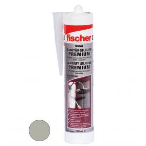 Fischer DSSA prémium szaniter szilikon, szürke, 310 ml termék fő termékképe