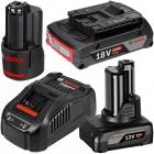 Bosch akkumulátorok és töltők