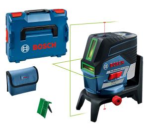 Bosch GCL 2-50 CG kombinált lézer + RM 2 forgószerelvény (akku és töltő nélkül) termék fő termékképe