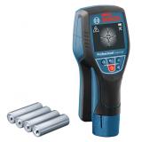 Bosch D-TECT 120 falszkenner kereső műszer (4 x 1.5 V LR6 elemmel)