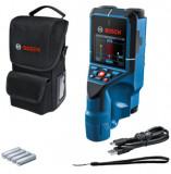 Bosch D-TECT 200 C falszkenner kereső műszer (4 x 1.5 V LR6 elemmel)