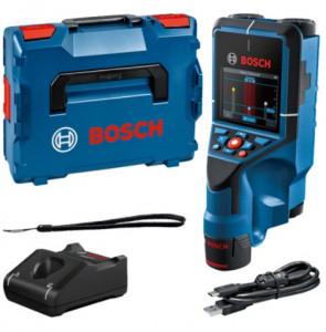Bosch D-TECT 200 C falszkenner kereső műszer (1 x 2.0 Ah Li-ion akkuval) termék fő termékképe