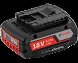 Bosch GBA vezeték nélkül tölthető Li-ion akkumulátor, 18 V, 2.0 Ah