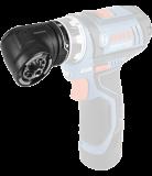 Bosch GFA 12-W FlexiClick System sarokfúró adapter