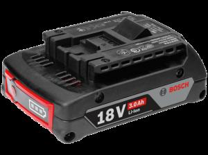 Bosch GBA Li-ion akkumulátor, 18 V, 3.0 Ah termék fő termékképe