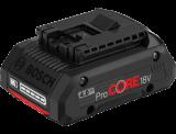 Bosch ProCORE Li-ion akkumulátor, 18 V, 4.0 Ah