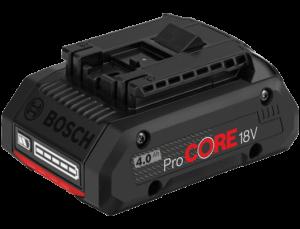 Bosch ProCORE Li-ion akkumulátor, 18 V, 4.0 Ah termék fő termékképe