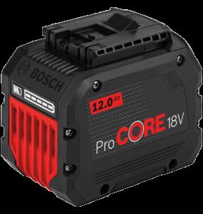 Bosch ProCORE nagy teljesítményű Li-ion akkumulátor, 18 V, 12.0 Ah termék fő termékképe