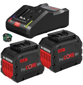 Bosch GAL 18V-160 C gyorstöltő Bluetooth Low Energy modullal + 2 db ProCORE Li-ion akkumulátor, 18 V, 12.0 Ah termék fő termékképe