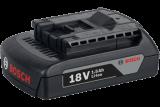 Bosch GBA Li-ion akkumulátor, 18 V, 1.5 Ah