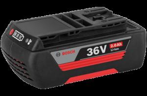 Bosch GBA nagy teljesítményű Li-ion akkumulátor, 36 V, 2.0 Ah termék fő termékképe