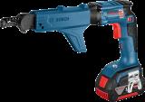 Bosch GSR 18V-EC TE akkus szárazépítő csavarozó (2 x 5.0 Ah Li-ion akkuval)