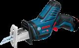 Bosch GSA 12V-14 akkus szablyafűrész (2 x 2.0 Ah Li-ion akkuval)