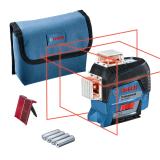 Bosch GLL 3-80 C vonallézer (4 x 1.5 V LR6 elemmel)