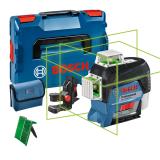 Bosch GLL 3-80 CG vonallézer + BM 1 univerzális tartó (akku és töltő nélkül)