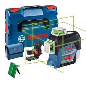 Bosch GLL 3-80 CG vonallézer + BM 1 univerzális tartó (akku és töltő nélkül) termék fő termékképe