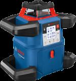Bosch GRL 600 CHV forgólézer + BT 170 HD állvány + GR 240 mérőléc