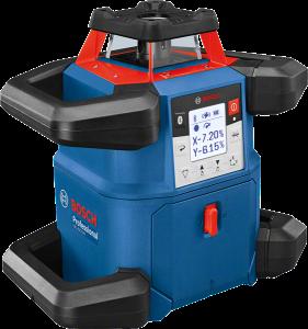 Bosch GRL 600 CHV forgólézer + BT 170 HD állvány + GR 240 mérőléc termék fő termékképe