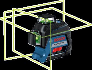 Bosch GLL 3-80 G vonallézer termék fő termékképe