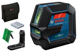 Bosch GLL 2-15 G vonallézer + LB 10 univerzális tartó termék fő termékképe