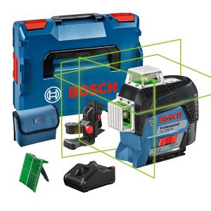 Bosch GLL 3-80 CG vonallézer + BM 1 univerzális tartó (1 x 2.0 Ah Li-ion akkuval) termék fő termékképe