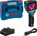 Bosch GTC 600 C akkus hőkamera (1 x 2.0 Ah Li-ion akkuval)
