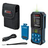 Bosch GLM 50-27 CG lézeres távolságmérő, zöld (BA 3.7V 1.0Ah Li-ion akkuval)