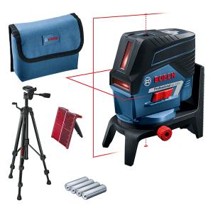 Bosch GCL 2-50 C kombinált lézer + RM 2 forgószerelvény + BT 150 állvány (4 x 1.5 V LR6 elemmel) termék fő termékképe