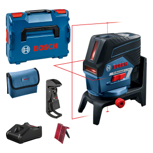 Bosch GCL 2-50 C kombinált lézer + RM 2 forgószerelvény + BM 3 fali tartó (1 x 2.0 Ah Li-ion akkuval) termék fő termékképe