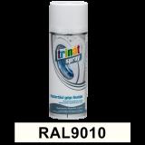 Háztartási gép festék spray, RAL9010, 400 ml