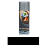 Hőálló festék spray, fekete,  400 ml