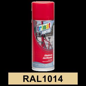 Trinát Általános akrilfesték spray, RAL1014, 400 ml termék fő termékképe