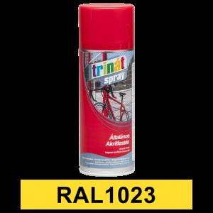 Trinát Általános akrilfesték spray, RAL1023, 400 ml termék fő termékképe