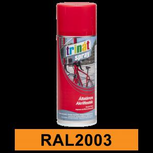 Trinát Általános akrilfesték spray, RAL2003, 400 ml termék fő termékképe