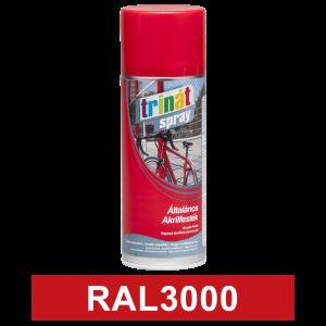 Trinát Általános akrilfesték spray, RAL3000, 400 ml termék fő termékképe