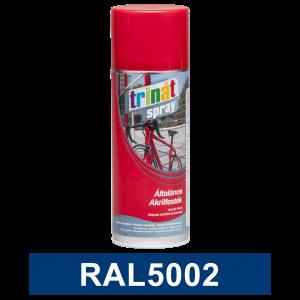 Trinát Általános akrilfesték spray, RAL5002, 400 ml termék fő termékképe