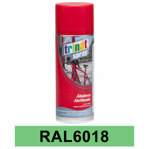 Trinát Általános akrilfesték spray, RAL6018, 400 ml termék fő termékképe