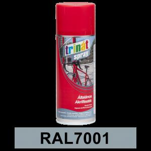 Trinát Általános akrilfesték spray, RAL7001, 400 ml termék fő termékképe