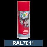 Trinát Általános akrilfesték spray, RAL7011, 400 ml