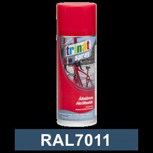 Trinát Általános akrilfesték spray, RAL7011, 400 ml termék fő termékképe