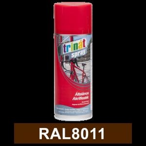 Trinát Általános akrilfesték spray, RAL8011, 400 ml termék fő termékképe