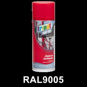 Trinát Általános akrilfesték spray, RAL9005, 400 ml termék fő termékképe