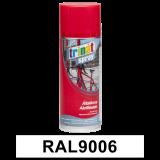Általános akrilfesték spray, RAL9006, 400 ml
