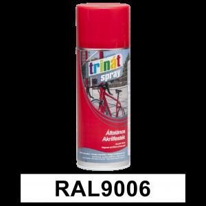 Trinát Általános akrilfesték spray, RAL9006, 400 ml termék fő termékképe