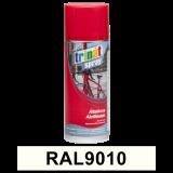 Általános akrilfesték spray, RAL9010, 400 ml