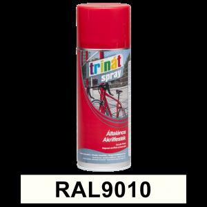 Trinát Általános akrilfesték spray, RAL9010, 400 ml termék fő termékképe
