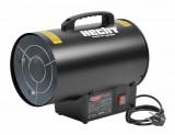 Hecht 3015 gázos hőlégbefúvó tömlővel és gázreduktorral