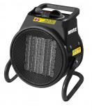 Hecht 3542 hősugárzó ventilátorral és termosztáttal
