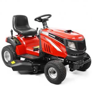 Hecht 5114 benzinmotoros kerti traktor oldalkidobóval termék fő termékképe
