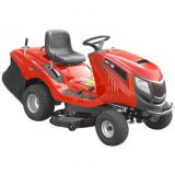 Hecht 5227 benzinmotoros kerti traktor fűgyűjtővel
